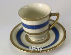 1928 Graf Zeppelin Flown Demitasse Cup & Saucer Named to the Airship