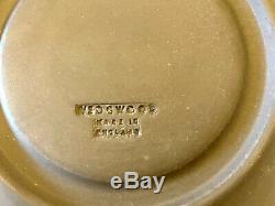 26 Pcs Vintage Wedgwood Black Basalt Demitasse Set Minkin Pot with12 Cups Saucers