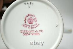 4 Hammersley for Tiffany & Co Demitasse Cup & Saucer Sets