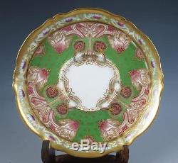 Antique 19th C. Haviland Limoges Art Nouveau Demitasse Cup & Saucer Porcelain
