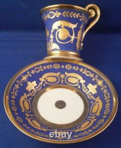 Antique 20thC Nymphenburg Porcelain Demitasse Cup & Saucer Porzellan Tasse