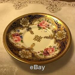 Antique Allertons English Porcelain Demitasse Cup and Saucer