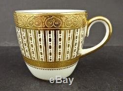 Antique Cauldon Demitasse Cup & Saucer for Tiffany