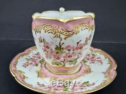 Antique Clauss Paris Demitasse Cup & Saucer