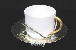 Antique Coalport Chr Dresser Demi Tasse Cup and Saucer Circa 1894
