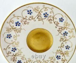 Antique Coalport Demitasse Cup & Saucer, Art Nouveau
