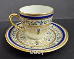 Antique Guerin Limoges Demitasse Cup & Saucer