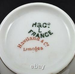 Antique Haviland & Co. Limoges Demitasse Cup & Saucer