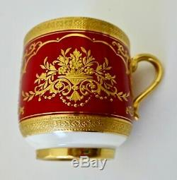 Antique Mintons Demitasse Cup & Saucer, Made for Tiffany