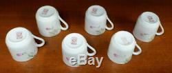 Antique Noritake Azalea Demitasse Set Cups Saucers Coffee Pot