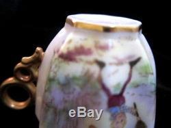 Antique Palmer Cox Brownies TENNIS CAC (Early Lenox) Belleek Demitasse Cup