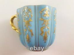 Antique Rare Coalport Davis Collamore Limited Edition Demitasse Cup Saucer