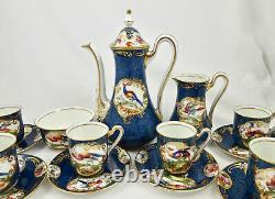 Antique Royal Doulton Demitasse Set for 6