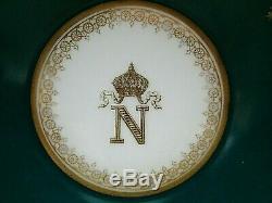 Antique Royal M. Imp de Sevres Hand Painted Signed Demi Tasse Cup And Saucer