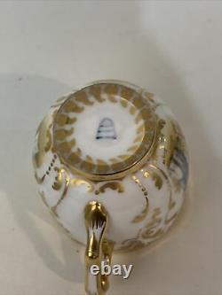 Antique Royal Vienna Demitasse Cup & Saucer Signed Cupid Angel Scenes