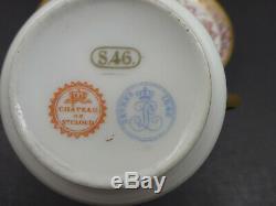 Antique Sevres Demitasse Cup & Saucer