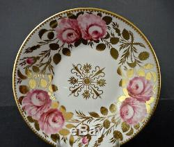 Antique Spode Copelands Demitasse Cup & Saucer, Roses