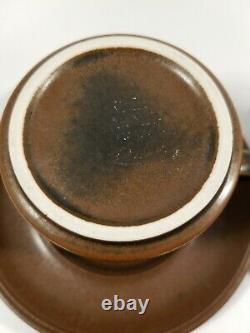 Arabia Finland Ruska Cups, Demitasses, Saucers, Bowls, Plates, Creamer 25 Pieces