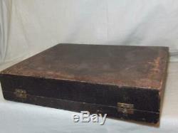 Boxed Set 6 Royal Doulton Demitasse Coffee Cups & Saucers Art Deco c1930