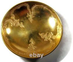 Chryso Healey Ceramics Gold Demitasse Cup & Saucer #1526 Set of 7 KPM Blank
