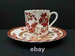 Copeland Spode India Tree Demitasse Cups and Saucers 6 Sets England