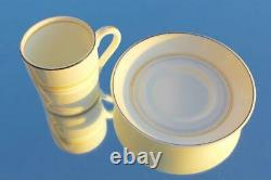 Cunard Line Rms Queen Mary 1st CL Art Deco 1950's Demitasse Coffee Cup & Saucer