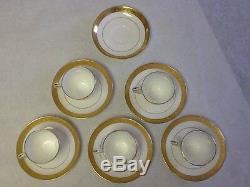 Davis Collamore & Co. / Minton (5)pc H1325 Demitasse Cups/Saucers+ Circa 1900