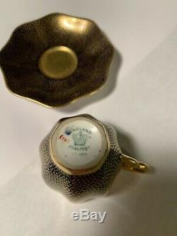 Demitasse Cup and saucer Coalport AD. 1750 England