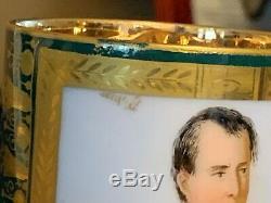 Extremely Rare M. Imp de Sevres Napoleon 1st Demitasse Cup & Saucer