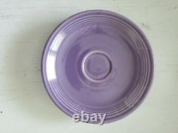 Fiesta Fiestaware Lilac Purple Demitasse Cup Saucer HLC Pottery Dinnerware