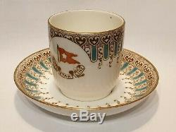 Genuine/Original White Star Line 1st Class Demitasse Cup & Saucer