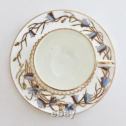 George Jones demitasse cup and saucer, Aesthetic Movement 1893-1924