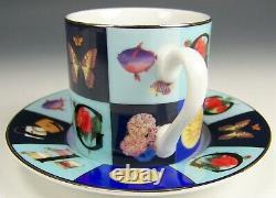 Gucci Porcellana Demitasse Espresso Cup & Saucer