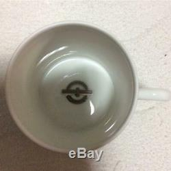 HERMES Chaine d'Ancre Pair of Demitasse Cup & Saucer In Box New