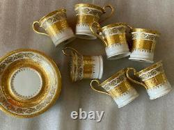 Limoges Demitasse cup and saucer set Imperiale by Ceralene 2 1/2 price per set