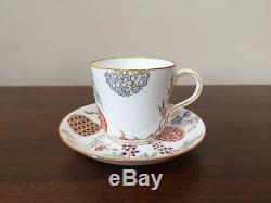 Minton Aesthetic Movement Demitasse Cup & Saucer Set, circa 1882 England