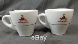 Montecristo Demitasse/Espresso/Coffee Set of 4 Cups & Saucers