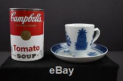 Mottahedeh Historic Charleston Foundation Demitasse Cups & Saucers, 4 Sets