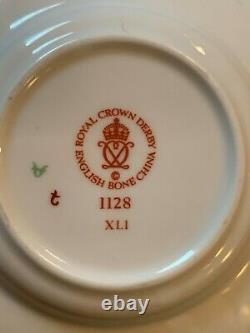 Old Imari 1128 Demitasse Cup & Saucer Set 5 piece set