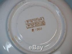 Original White Star Line Wisteria Pattern Demitasse Cup & Saucer 1/1905 8/1905