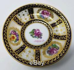 Paragon Her Majesty Queen Mary Demitasse Cup & Saucer #1 Artist Signed