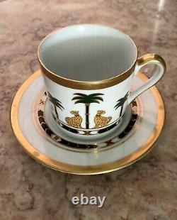 RARE Christian Dior Casablanca Espresso Demitasse Cup and Saucer
