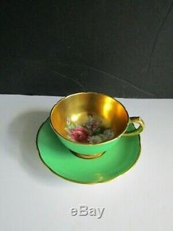 RARE! Vintage Paragon Demi-Tasse Tea Cup & Saucer Set