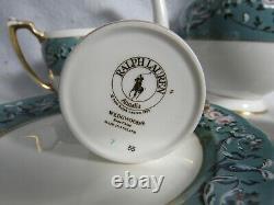 Ralph Lauren Wedgwood Annalia Tea Pot Creamer Sugar Demitasse Cups Saucers More