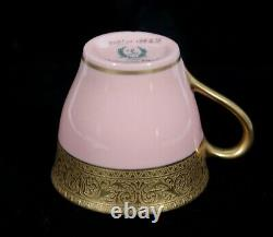 Rare! Lenox Westchester Gold #m139x15 Coral Marshall Fields Demitasse Cup Only