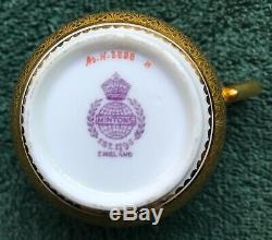 Rare Minton Demitasse Matching Cup & Saucer Must See Free Shipping