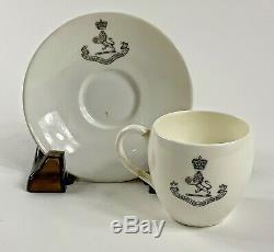 Rare Mintons Cunard Steamship company LTD Demitasse cup & saucer 1891 1912 RMS