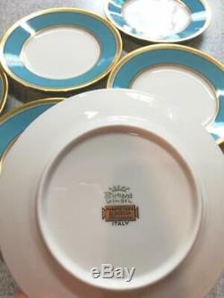 Richard Ginori Demitasse Cup D4.5H5.5cm & Saucer / Plate D15cm Set of 6 IN BOX