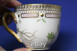 Royal Copenhagen Flora Danica #3618 Draba Verna L Demitasse Cup & Saucer