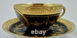 Vienna Style Demitasse Portrait Cup & Saucer